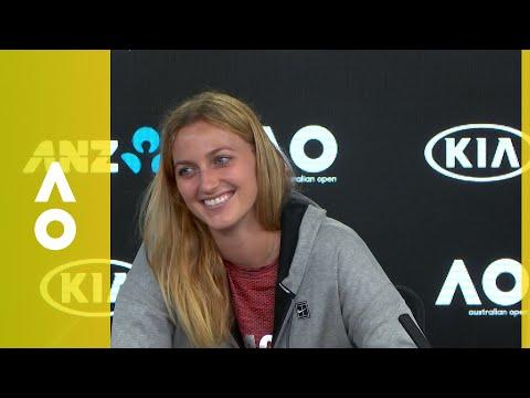 Petra Kvitova press conference (1R) | Australian Open 2018
