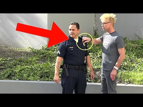 Download Youtube: STEALING A COPS BADGE (NEVER DO THiS!!!) - MAGIC PRANK