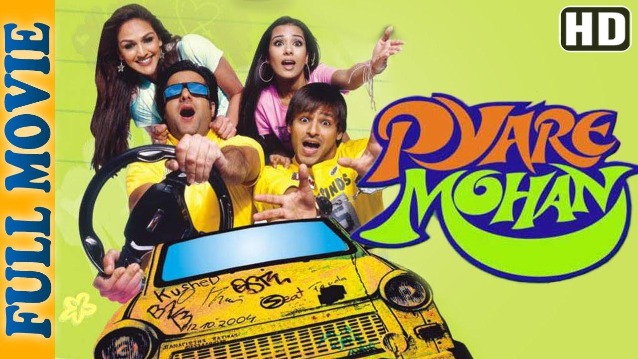 Pyare Mohan (HD) - Full Movie - Vivek Oberoi- Fardeen Khan - Superhit Comedy Movie