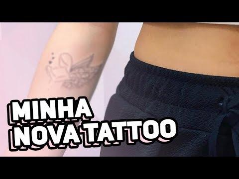 MINHA TATUAGEM NOVA!!!! | Nah Cardoso