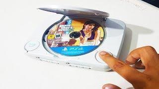 ¿Que Pasa Si Ponemos Un Disco GTA 5 de PS4 en una PS1?