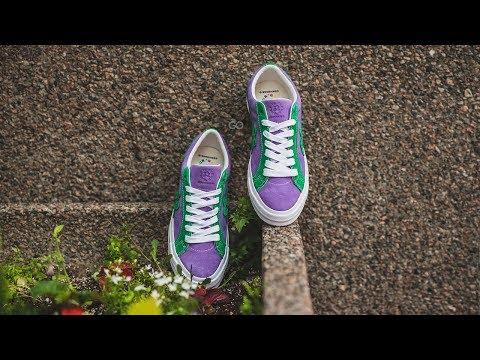 Converse Golf Le Fleur One Star Purple Heart / Jolly Green: Review & On-Feet