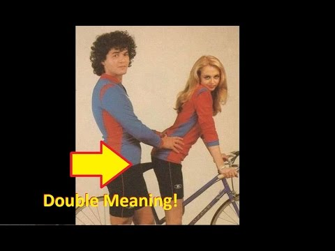 "Most hilarious ""Double Meaning"" photos ever! Double entendre!"