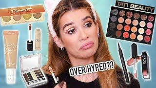 Testing FULL FACE of HOT NEW MAKEUP! (Watch BEFORE you buy!)