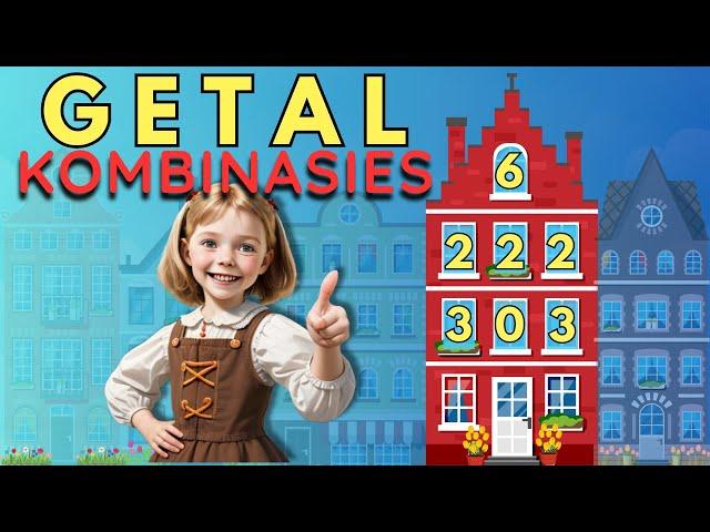 Ek kan - Wiskunde getal kombinasies vir kinders (huisie somme) - Hulp vir juffrou