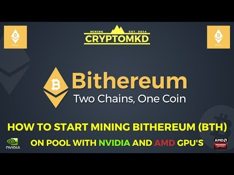 How To Start Mining Bithereum (BTH) On Pool With NVIDIA And AMD GPU's