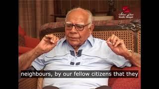 Ram Jethmalani talking about DD Sindhi Channel