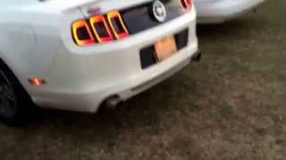 2013 mustang 3 7l v6 with full exhaust