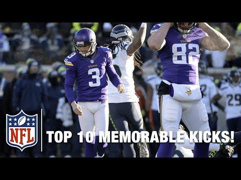 Top 10 Most Memorable Field Goals & Misses in NFL History!