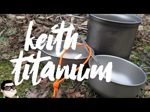 Keith Titanium Cookware Demonstration & Review