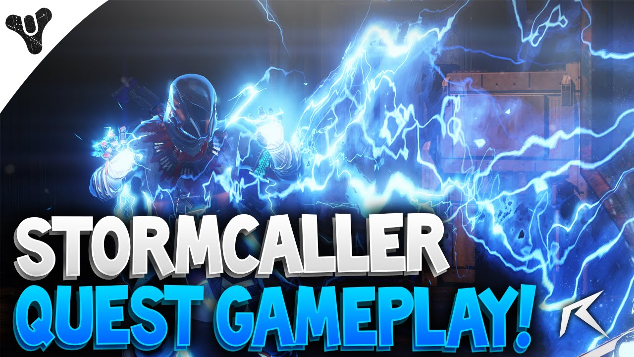 Destiny how to get stormcaller subclass quot a stormcallers path
