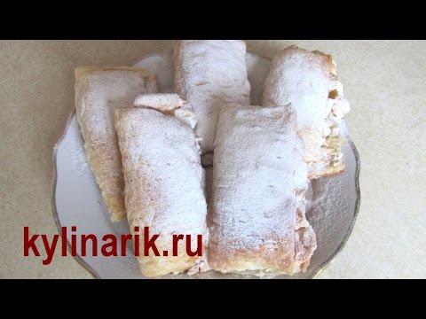 слойки из слоеного теста рецепты пошагово