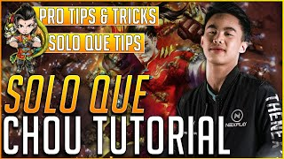 SOLO QUE CHOU TUTORIAL BY RENEJAY