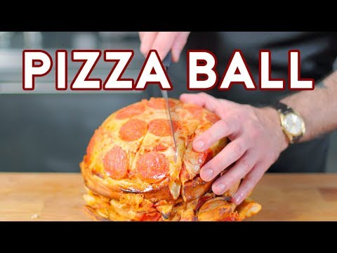 Binging with Babish: Pizza Ball from The Eric Andre Show