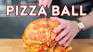 Download Binging with Babish: Pizza Ball from The Eric Andre Show Mp3 and Videos