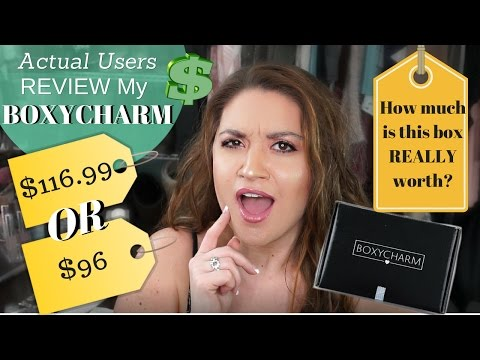 ACTUAL USERS Review My Boxycharm April 2017 | *PRICE DISCREPANCIES* IN HONEST REVIEWS