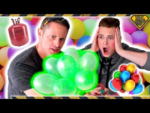 Helium vs. Bunch O Balloons Experiment