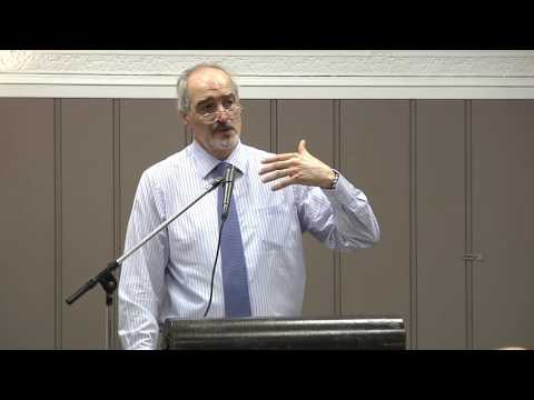Syrian Ambassador to UN Address to Schiller Institute September 11 Memorial Conference