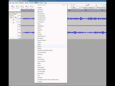 How to Loop Sounds Using Audacity