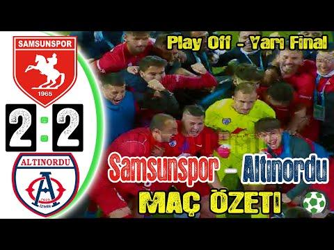 Samsunspor 2-2 Altınordu Maç Özeti - HD - 22/05/2021