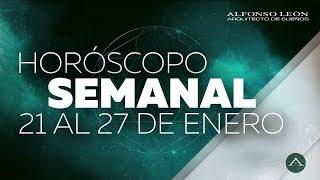 HOROSCOPO SEMANAL | 21 AL 27 DE ENERO | ALFONSO LEÓN ARQUITECTO DE SUEÑOS