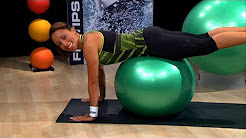 Stability ball workout for the lower back | Herbalife Workout