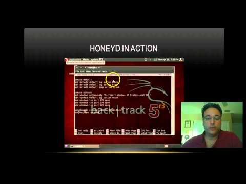 Ethical Hacking: Honeypots and Honeyd