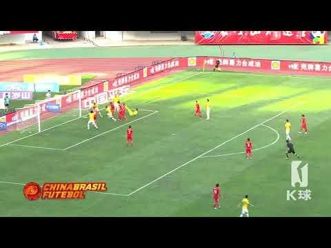 Gol Benjamin Moukandjo - Yanbian Fude x Jiangsu Suning - 23a Rodada da Super Liga da China 2017