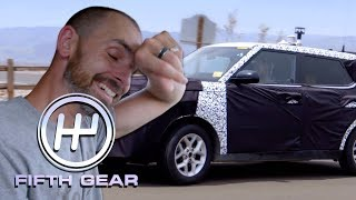 Driving in Death Valley at 154 degrees Fahrenheit | Fifth Gear
