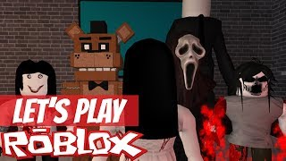 Let's Play Roblox Scary Elevator for Halloween