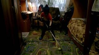 Урок дриблинга дома в 6 лет