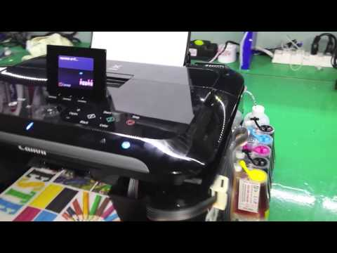 Multifuncional Canon Mg5310 Com Bulk Ink Instalado