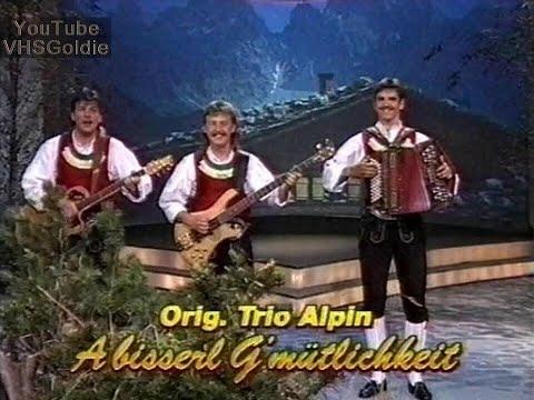 Trio Alpin - A bisserl G'mütlichkeit - 1992