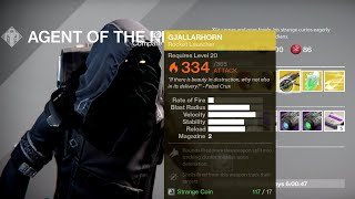 Xur Sells Gjallarhorn Get it While It