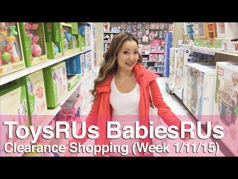 ★ ToysRUs & BabiesRUs Clearance Shopping (Week 1/11)