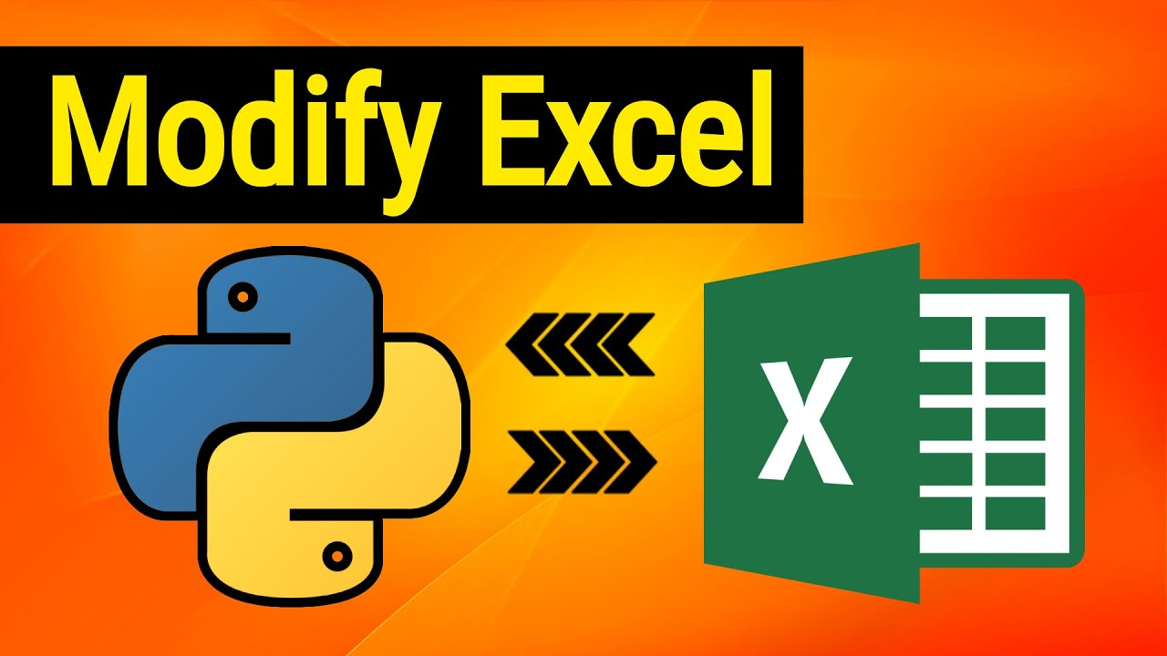 How to Modify Excel XLSX Files with Python and Openpyxl Library