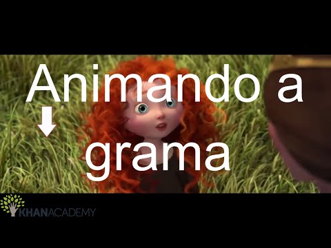 Animando a grama | Pixar in a Box | Khan Academy