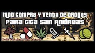 GTA SAN ANDREAS - vender comprar y consumir drogas