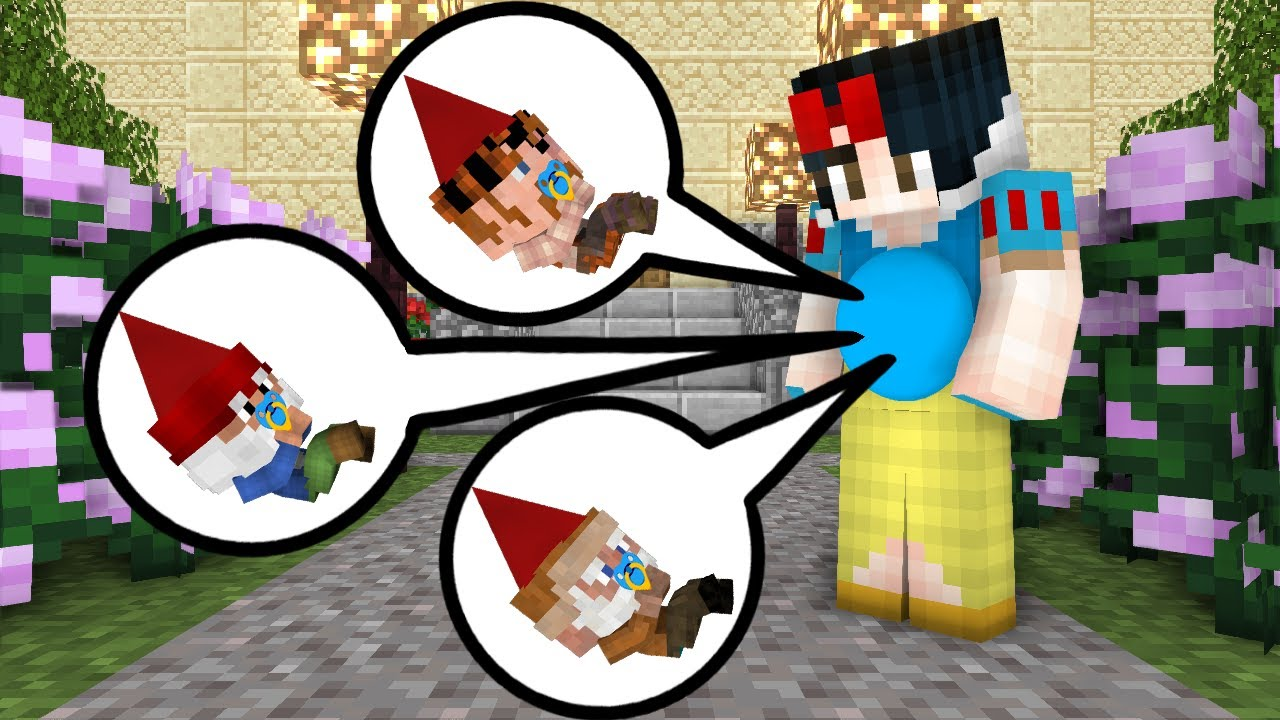 Monster School : When Herobrine became king and saved Snow White