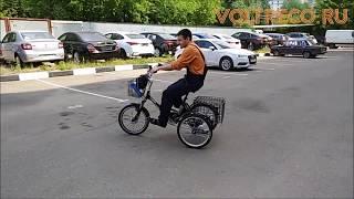 Трехколесный Электрический Велосипед для взрослых Трицикл Doonkan Trike Тест Драйв Voltreco.ru