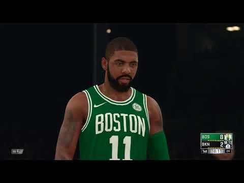 NBA 2K18 Boston Celtics vs Brooklyn Nets
