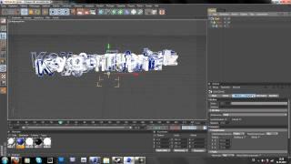 Cinema 4D Spinning Text Intro Tutorial (German)