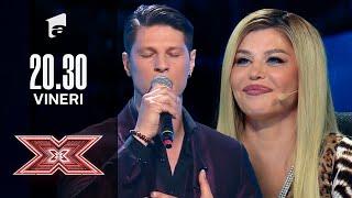 """Nick Casciaro cântă piesa """"Tom Walker - Leave a Light On""""   Audiții   X Factor 2021"""