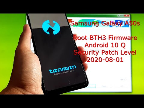 How to Root Samsung Galaxy A50s BTH3 Firmware Android 10