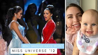WHO SHOULD HAVE WON MISS UNIVERSE 2012?? | As per your requests