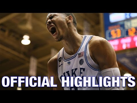 Jayson Tatum Official Highlights | Duke Forward