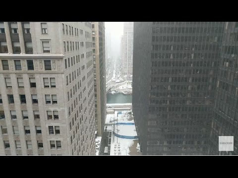 Chicago River & N Michigan Ave - March 14th,  2017!