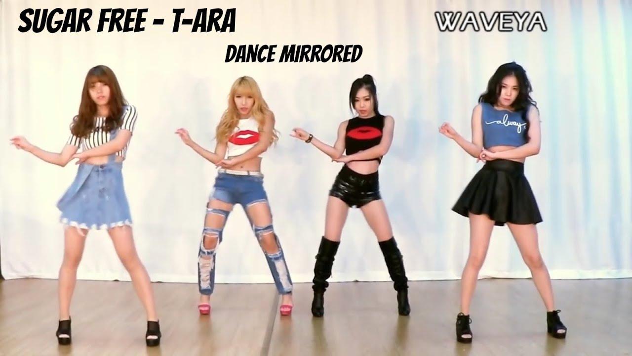 t ara sugar free 티아라 슈가프리 dance tutorial mirrored
