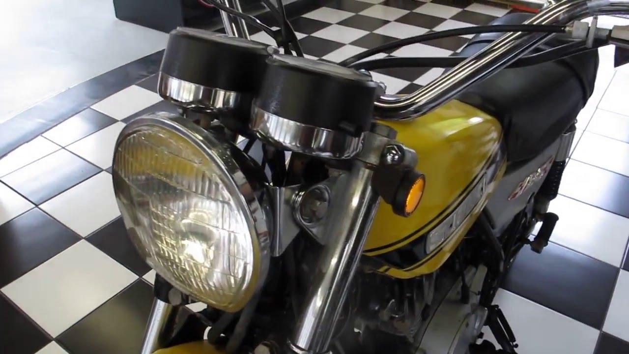 1971 Suzuki Ts125 Youtube 1980 Kawasaki Kz1000 Wiring Diagrams