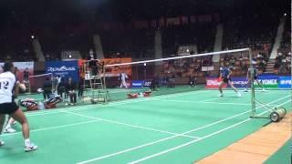 2011全日本総合バドミントン選手権大会準々決勝.